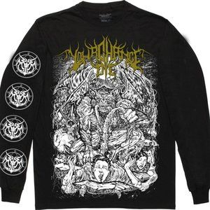 Your Chance To Die Feeders Mens Long Sleeve Shirt